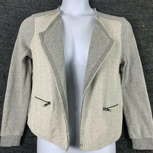 Caslon Large Cardigan Sweater Long Sleeved Open